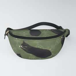 Cat photo pattern Fanny Pack