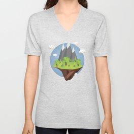 Mountains World Unisex V-Neck