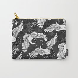 Birds of Paradise monochromatic Carry-All Pouch