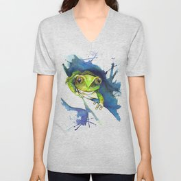 On the Lookout Unisex V-Neck