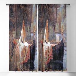 John William Waterhouse's The Lady of Shalott Blackout Curtain