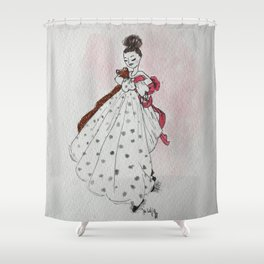 What to Wear Shower Curtain