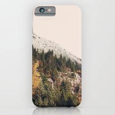 Winter Mountain Morning Slim Case iPhone 6