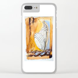Horns Light Clear iPhone Case
