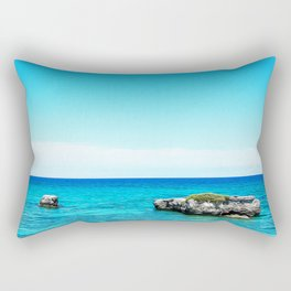 Seacoast of Salento Rectangular Pillow