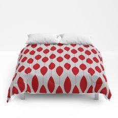 Rose petal drops modern pattern Comforters
