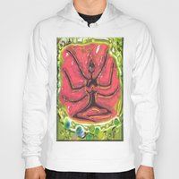 yoga Hoodies featuring Yoga by Tatyana Shayevich