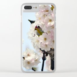 Perched Over the Hakodate Sakura Clear iPhone Case