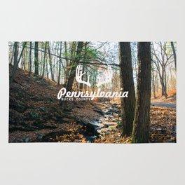 Bucks County - Pennsylvania. Rug