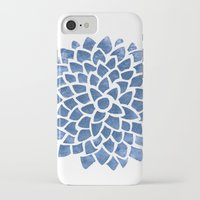 indigo iPhone & iPod Cases featuring Indigo by Color and Form