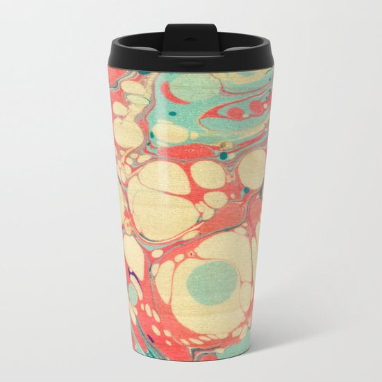 Abstract Painting ; Coast Metal Travel Mug