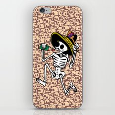 DANCING CALAVERA  iPhone & iPod Skin