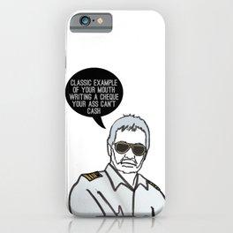 Classic Captain  iPhone Case