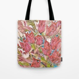 spring rose Tote Bag