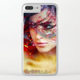whiplash Clear iPhone Case