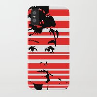 audrey iPhone & iPod Cases featuring Audrey by Heaven7