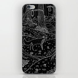 Nocturnal Animals of the Forest iPhone Skin