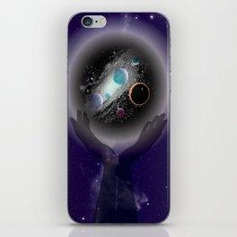 Cradled Space  iPhone Skin