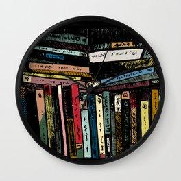 BOOKS TV Wall Clock