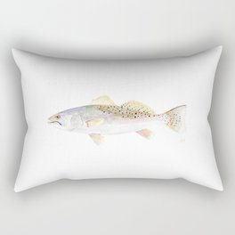 Speckled Trout Rectangular Pillow