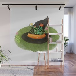 Witch Hat Wall Mural