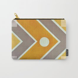 Fish - geometric square Carry-All Pouch