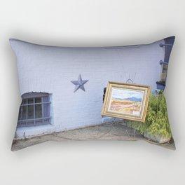 Street Art - Antique Style Rectangular Pillow