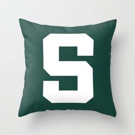 S Throw Pillow
