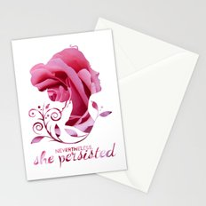 Nevertheless, She Persisted #shepersisted Stationery Cards