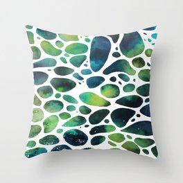 Sea's bubbles 2 Throw Pillow