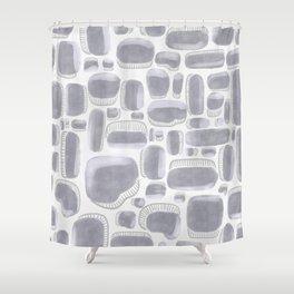 Metallics / Silver Shower Curtain
