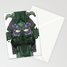 Reptaar, God of the Ozone Stationery Cards