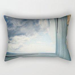 bizarre sea Rectangular Pillow