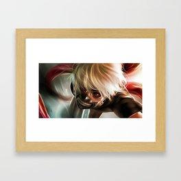 Kaneki ken v3 Framed Art Print