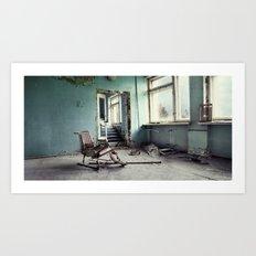 Chernobyl - лікарня III Art Print