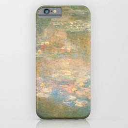 Water Lilies Claude Monet 1908 iPhone Case