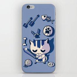 Cat the Conqueror iPhone Skin