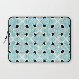 Neon Tile Pattern Laptop Sleeve