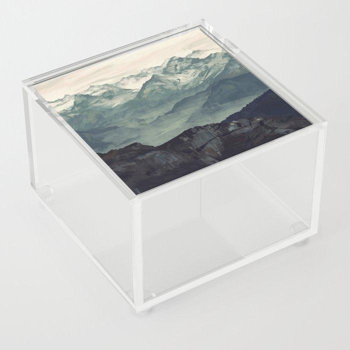 Mountain Fog Acrylic Box