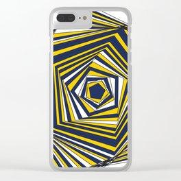 UMWolverine Clear iPhone Case