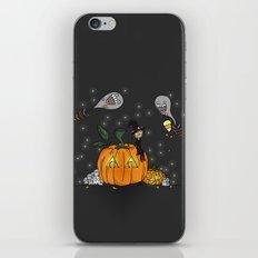 Halloween Spirits iPhone & iPod Skin