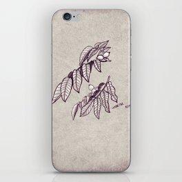 Walnut iPhone Skin