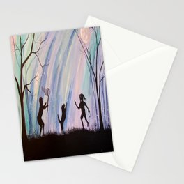 Catching Fireflies Stationery Cards