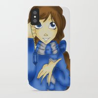 ravenclaw iPhone & iPod Cases featuring Ravenclaw by Maiii