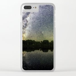 Henry Lake New Zealand Under Southern Hemisphere Skies By Olena Art Clear iPhone Case