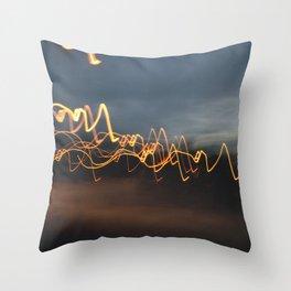 Disruptione Throw Pillow