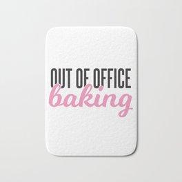 Out of Office Baking Bath Mat