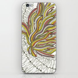 Sea Anemone iPhone Skin
