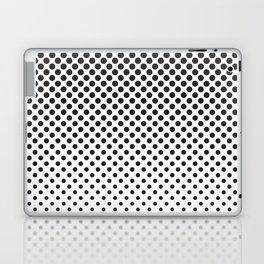 Halftone Black Dots Laptop & iPad Skin
