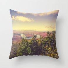 Endless Mountains Forever Wild Throw Pillow